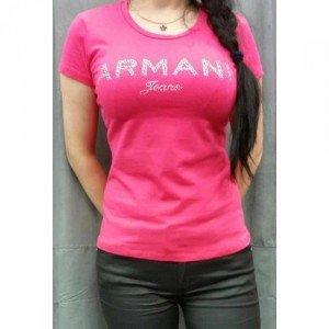 tee-shirt-armani-jeans-manches-courtes-femme