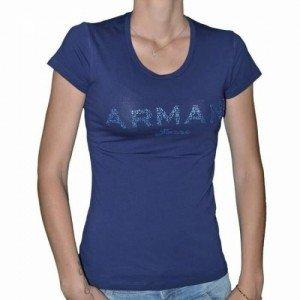 tee-shirt-armani-jeans-v5h17-strass-navy